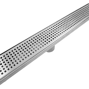 CopperLab Stainless Steel Linear CopperLabDrain Shower - 30 to 60 Inch