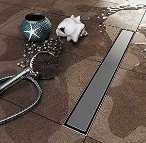 hanebath stainless steel tile insert linear shower channel drain 24 to 40 inch free