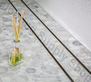 Royal Stainless Steel Tile Insert Linear Shower Channel