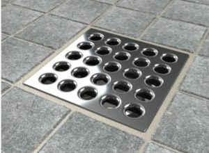 Ebbe E4401 Square Shower Drain Stainless Steel Grate
