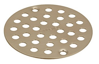 Moen 102763BN Kingsley Brass Shower Drain Cover - Available with 6 Colors