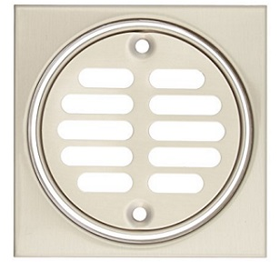 Mountain Mt231 Shower Drainage Cover Brushed Nickel 4 1 4 Quot