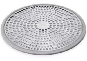 Oxo Stainless Steel Shower Drain Cover 4 8x4 8x0 4 Inches