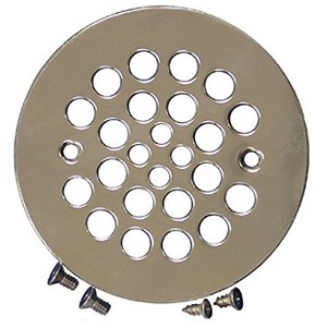 Plumbest D41-107 Shower Strainer Drain Satin Nickel - 4-1/4""